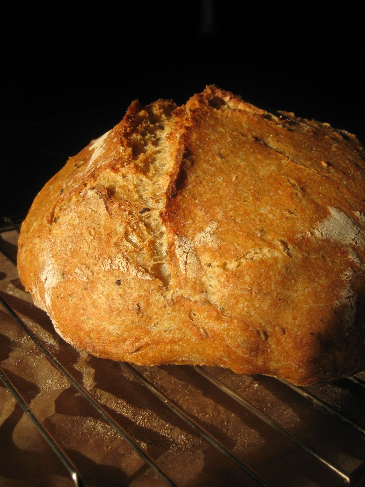 Basic White-Wheat Bread