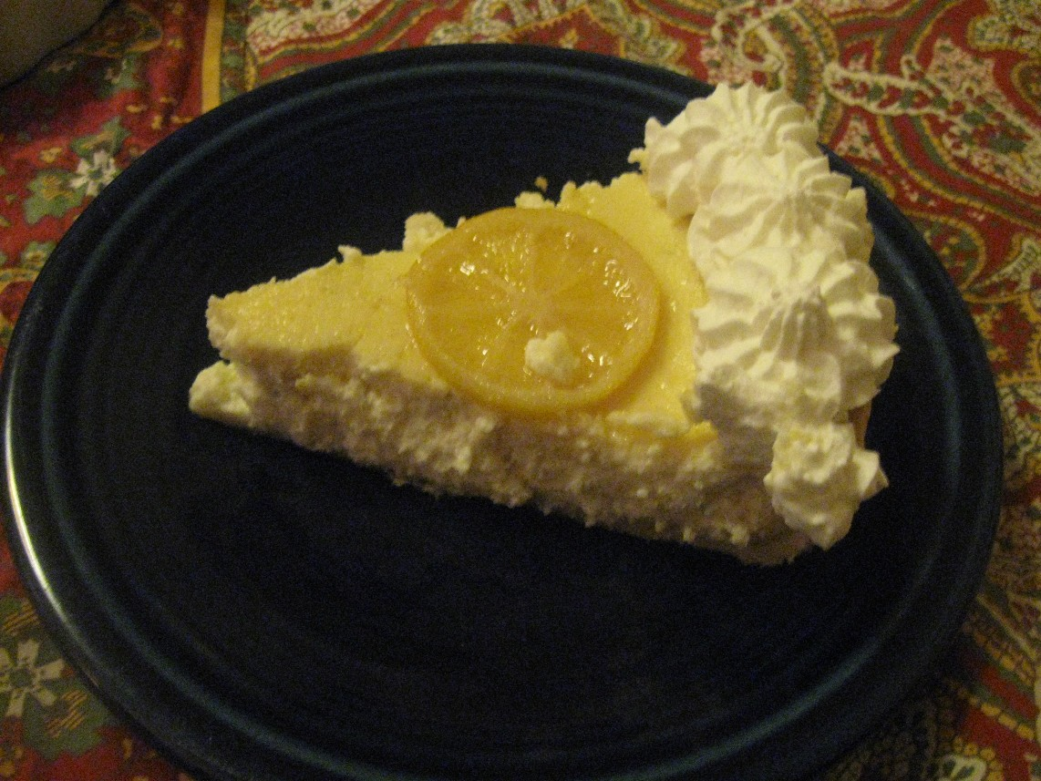 Lemon-Ricotta Tart Recipe — Dishmaps